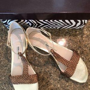 Gold & Bronze Sandal